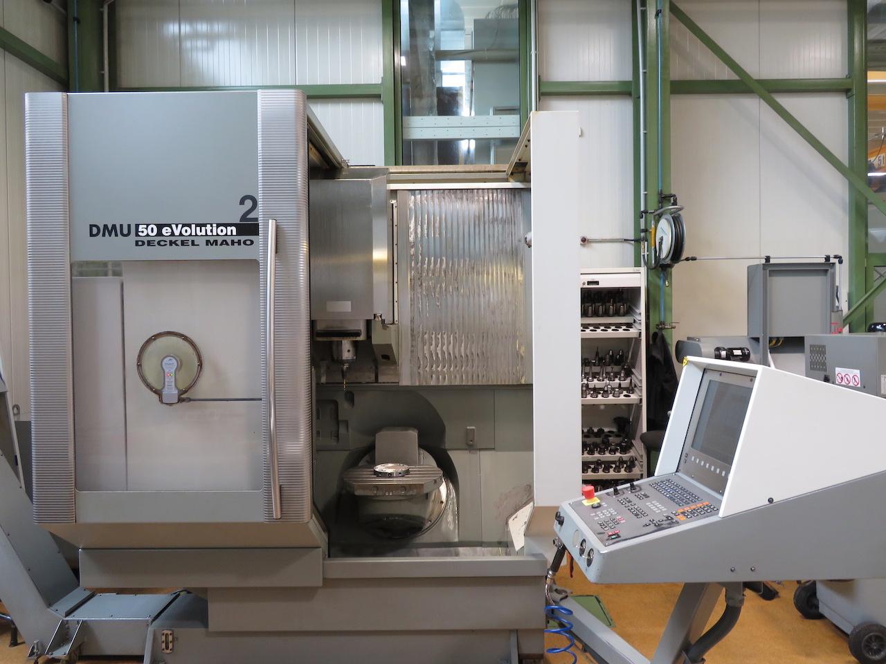 used  Machining Center - Vertical Deckel Maho DMU 50 eVolution