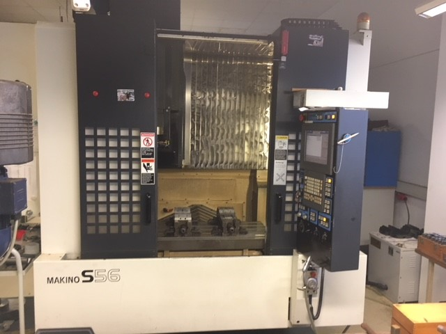 used  Machining Center - Vertical MAKINO S 56