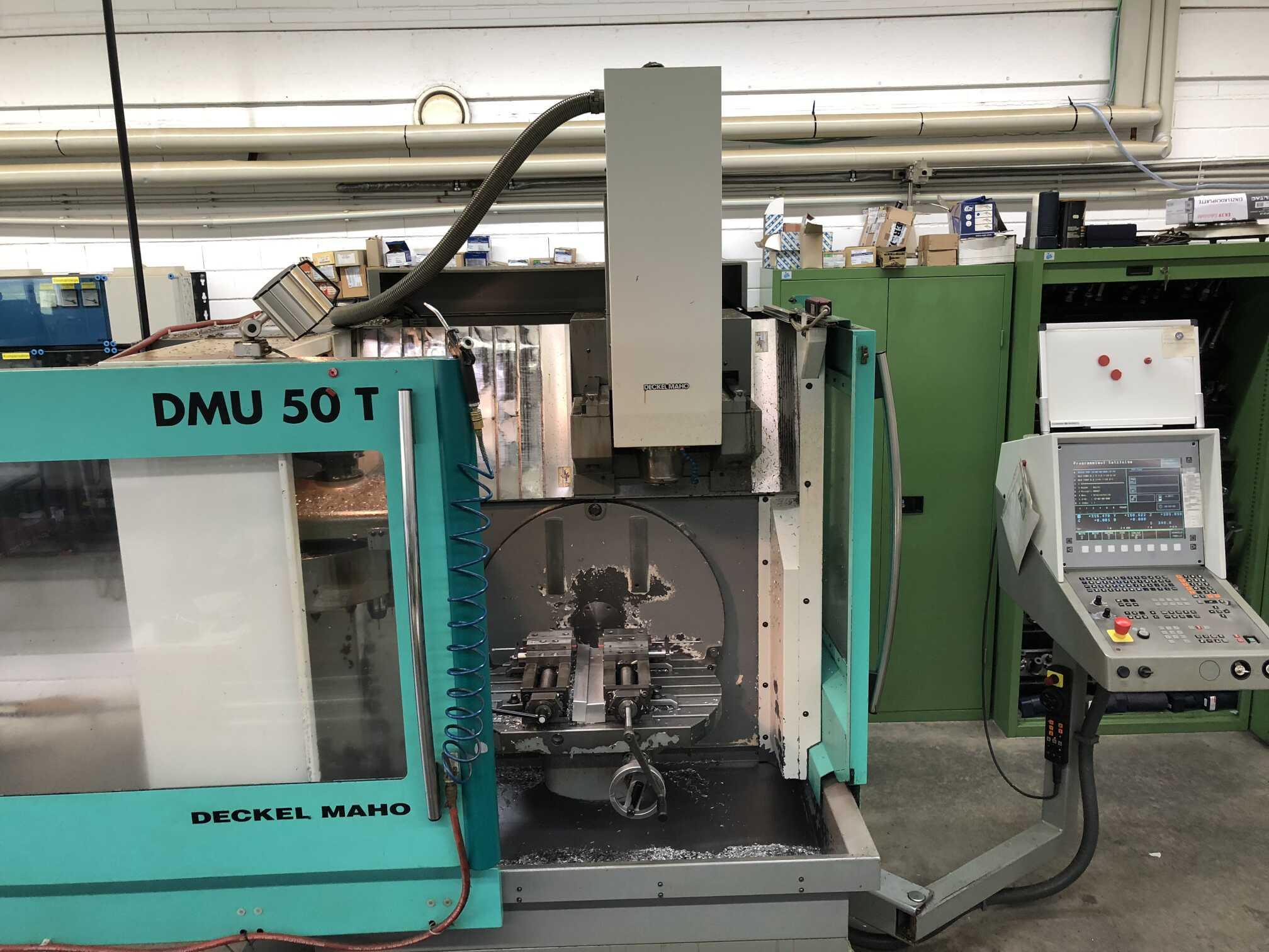 used  Universal Milling Machine Deckel Maho DMU 50 T