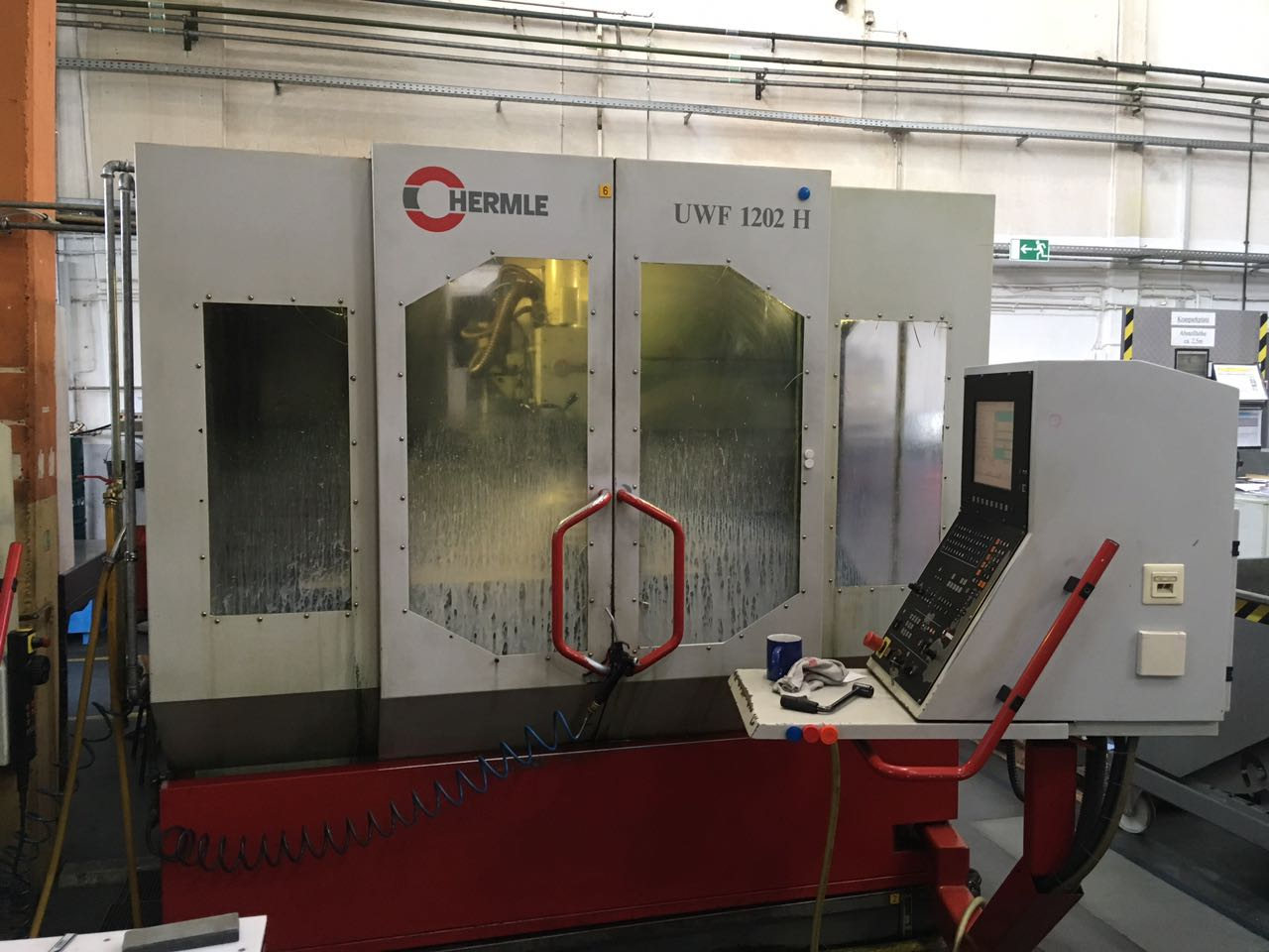used Machines available immediately Machining centre HERMLE UWF 1202H
