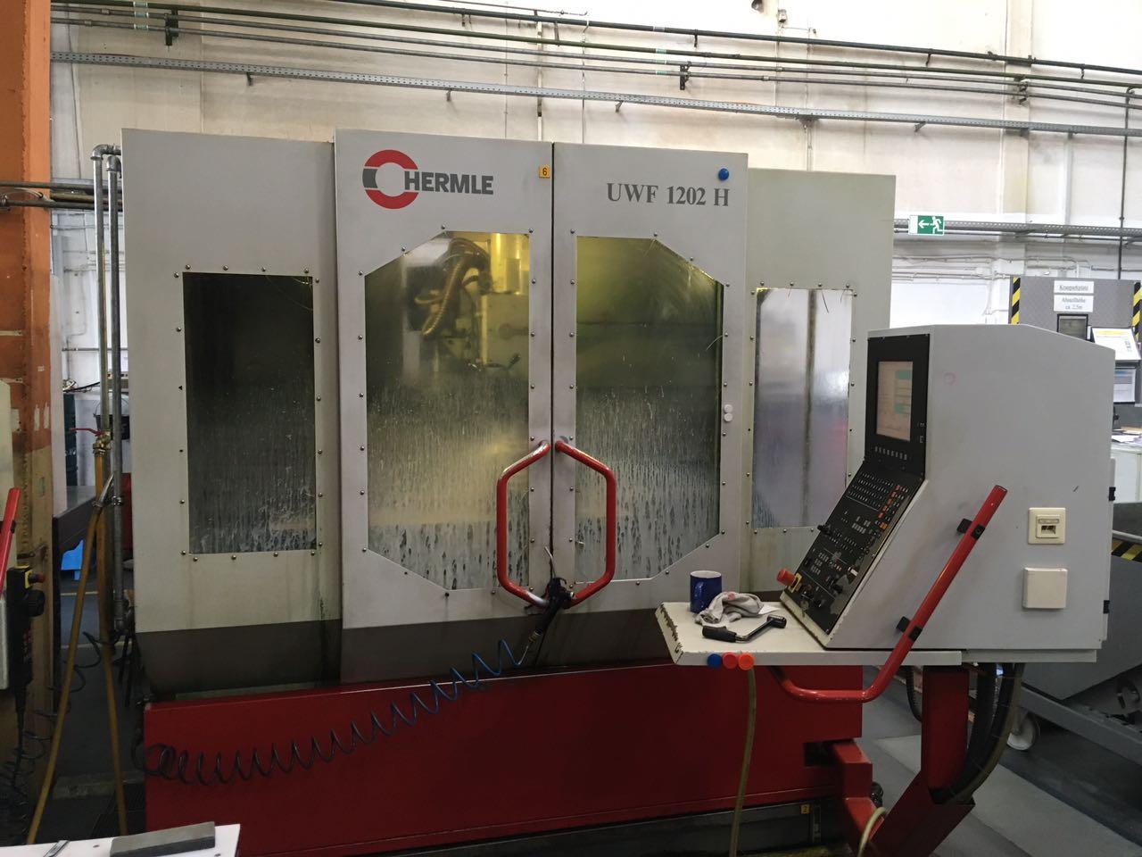 gebrauchte Maschinen sofort verfügbar Bearbeitungszentrum HERMLE UWF 1202H