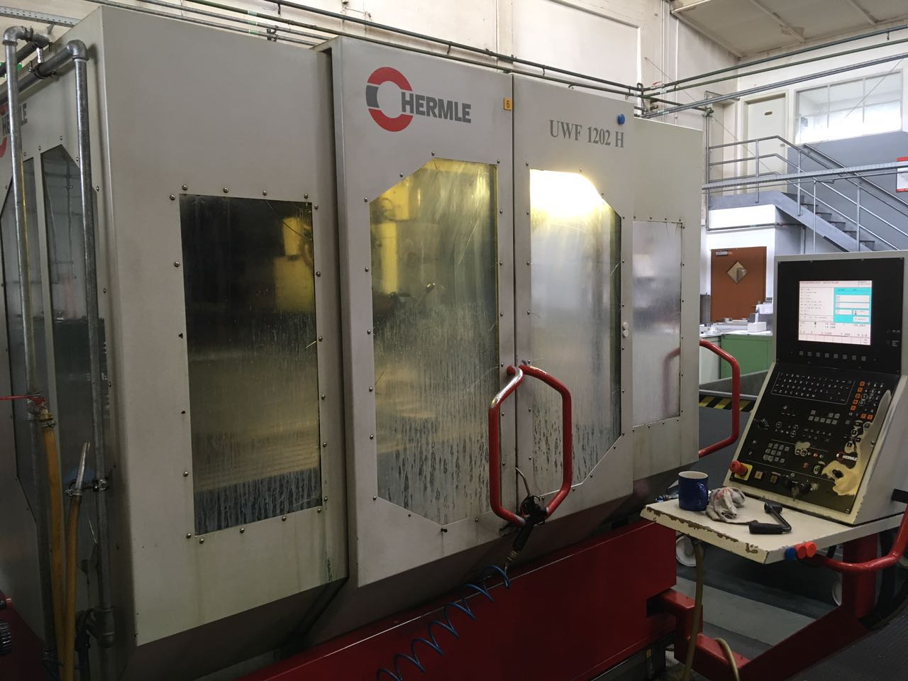 used Machining centre HERMLE UWF 1202H