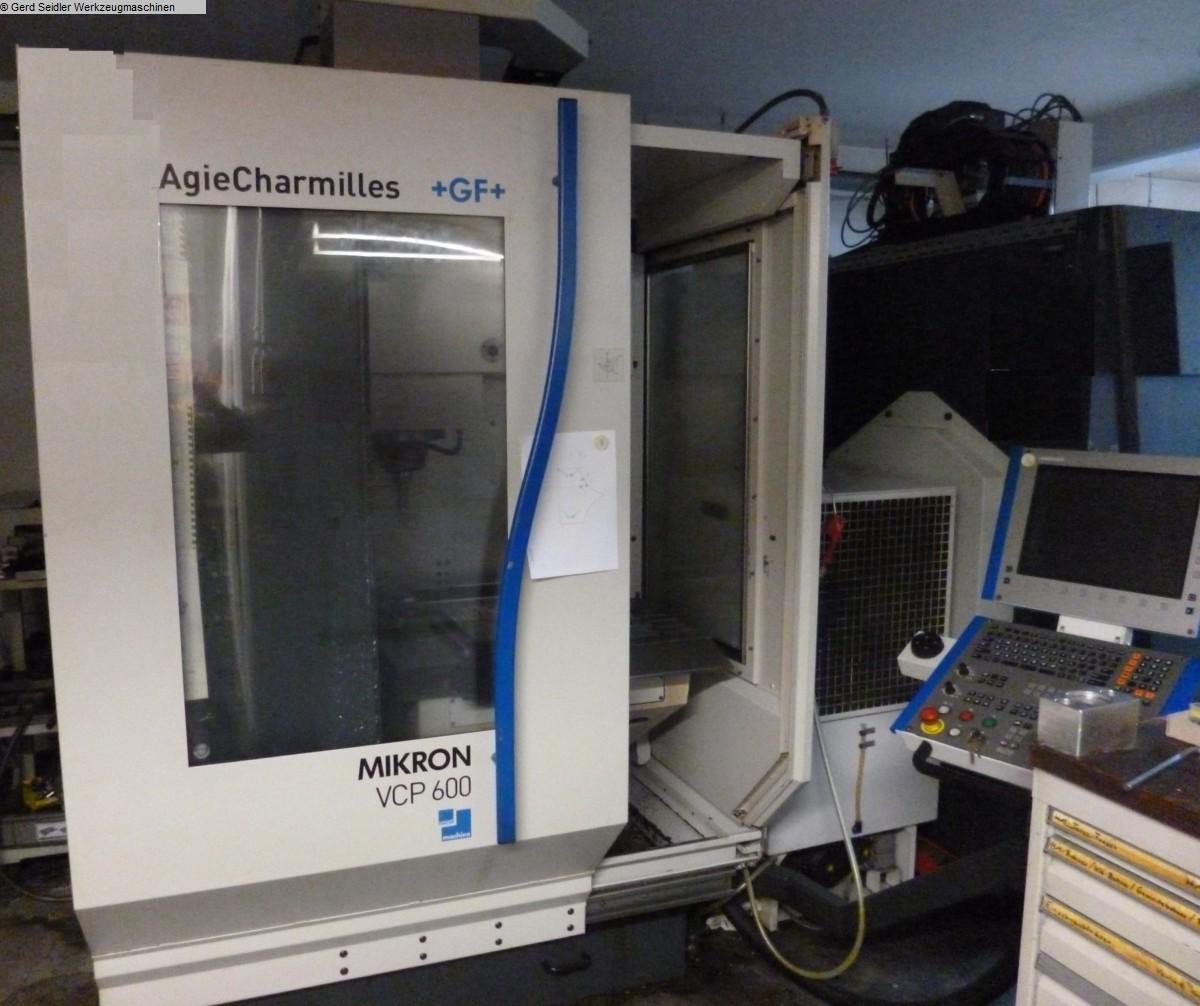 gebrauchte Maschine Bearbeitungszentrum - Vertikal MIKRON VCP 600
