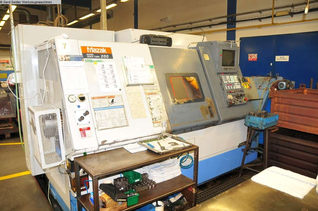 gebrauchte Maschine CNC Drehmaschine MAZAK SQT 200