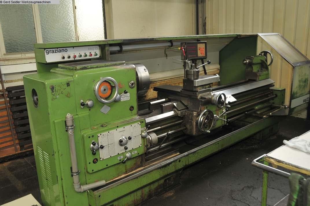 gebrauchte Maschine Leit- und Zugspindeldrehmaschine GRAZIANO SAG 22