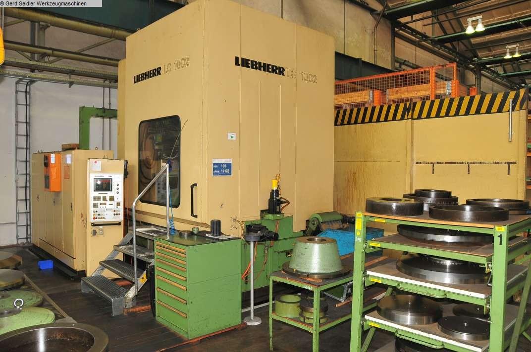 gebrauchte Maschine Zahnrad-Abwälzfräsmaschine - vertikal LIEBHERR LC 1002