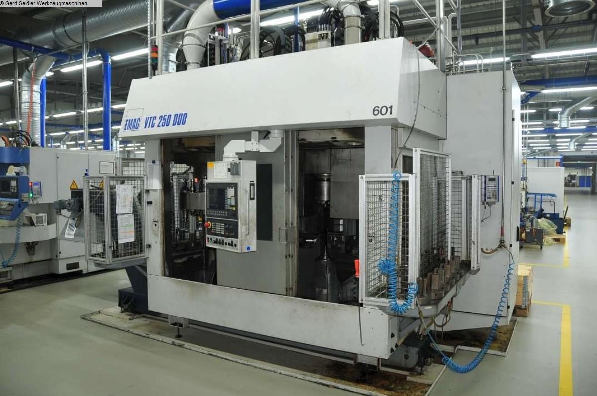 gebrauchte Maschine Vertikaldrehmaschine EMAG VTC 250 DUO ED