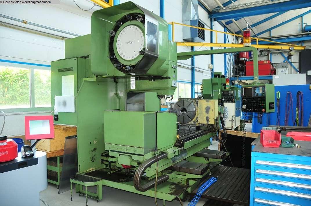 gebrauchte Bohrwerke / Bearbeitungszentren / Bohrmaschinen Bearbeitungszentrum  4 Achs OKK MCV 630