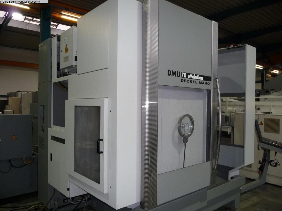 gebrauchte Bearbeitungszentrum  5 Achs DMG DMU 70 EVO