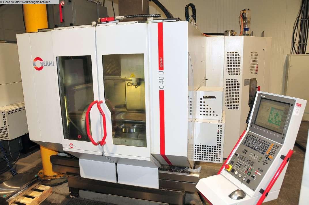gebrauchte Bohrwerke / Bearbeitungszentren / Bohrmaschinen Bearbeitungszentrum  5 Achs HERMLE C 40 U dynamic
