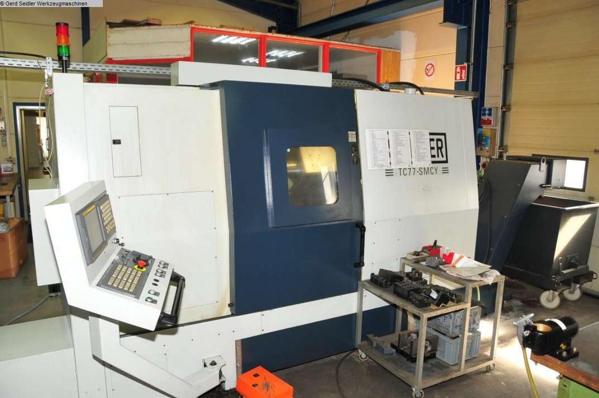 gebrauchte CNC Dreh- und Fräszentrum SPINNER TC 77 SMCY