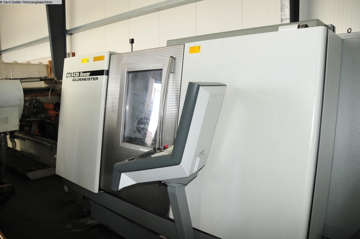 used  CNC Lathe GILDEMEISTER CTX 420 Linear V4
