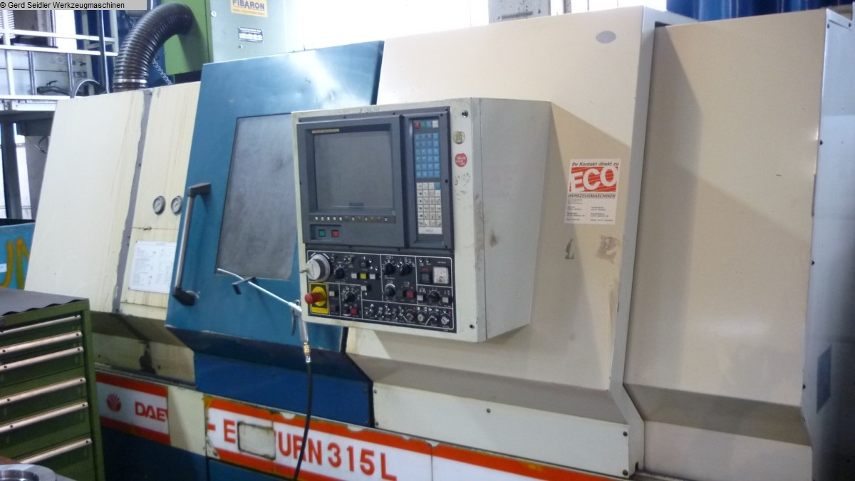 used  CNC Lathe - Inclined Bed Type DAEWOO Ecoturn 315