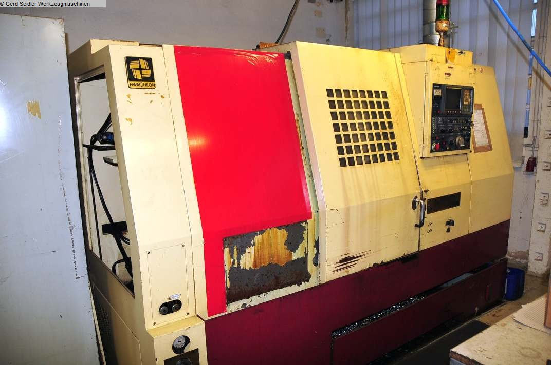 used  CNC Lathe - Inclined Bed Type HWACHEON Hi-ECO21