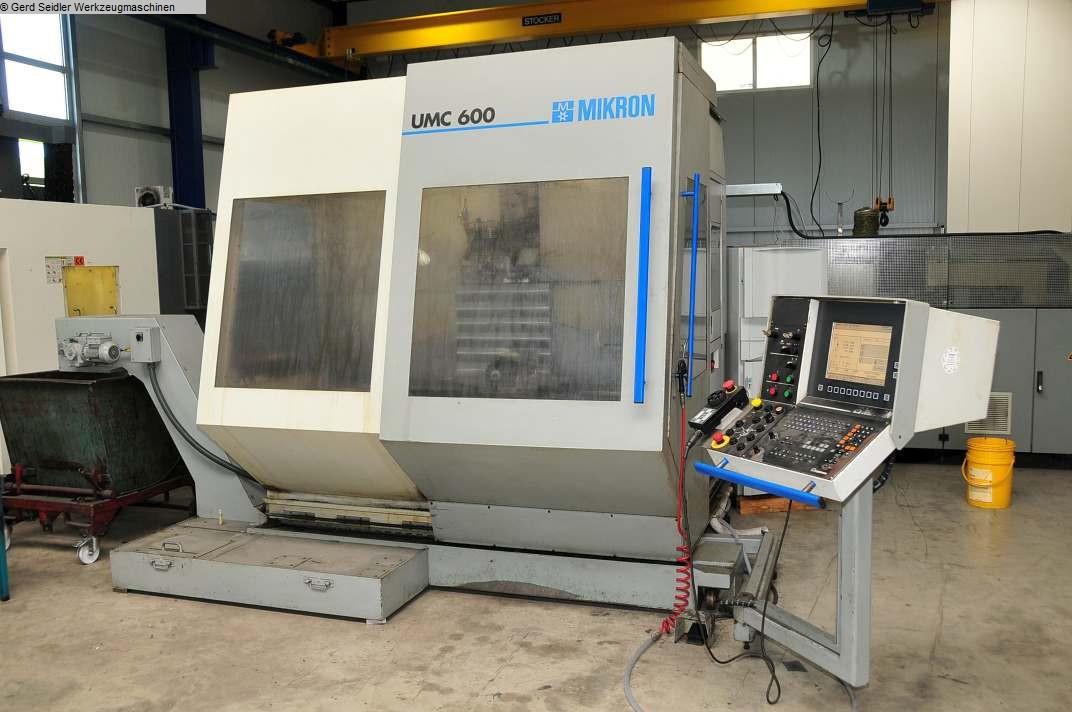 used  Machining Center - Universal MIKRON UMC 600
