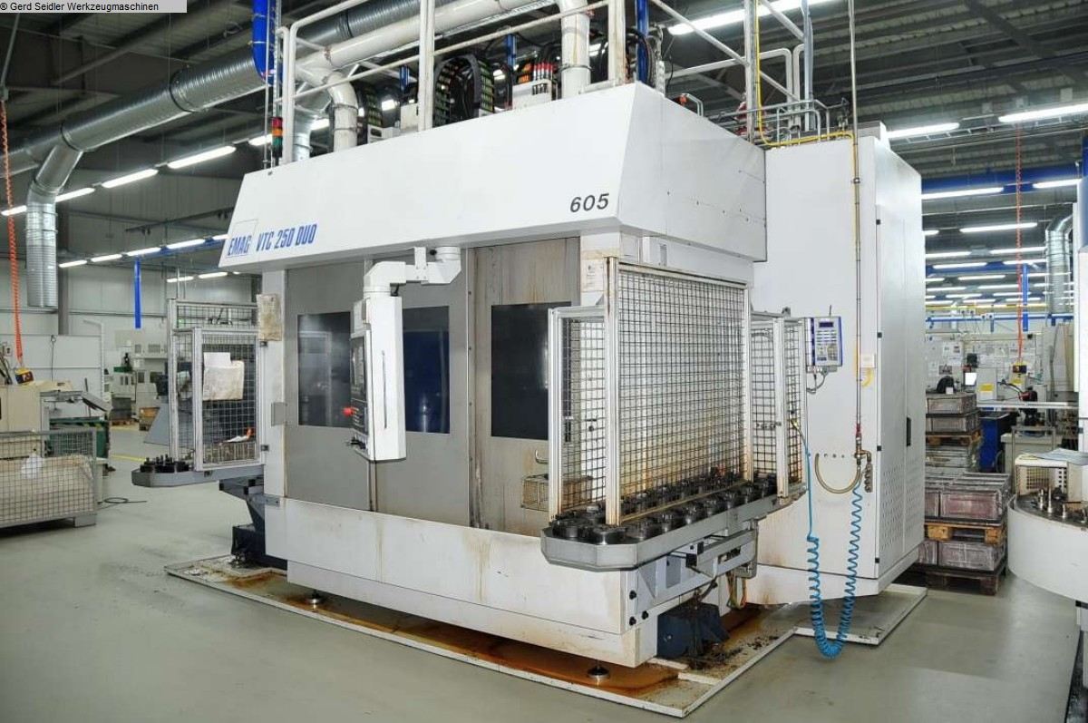 used  Vertical Turning Machine EMAG VTC 250 DUO DD