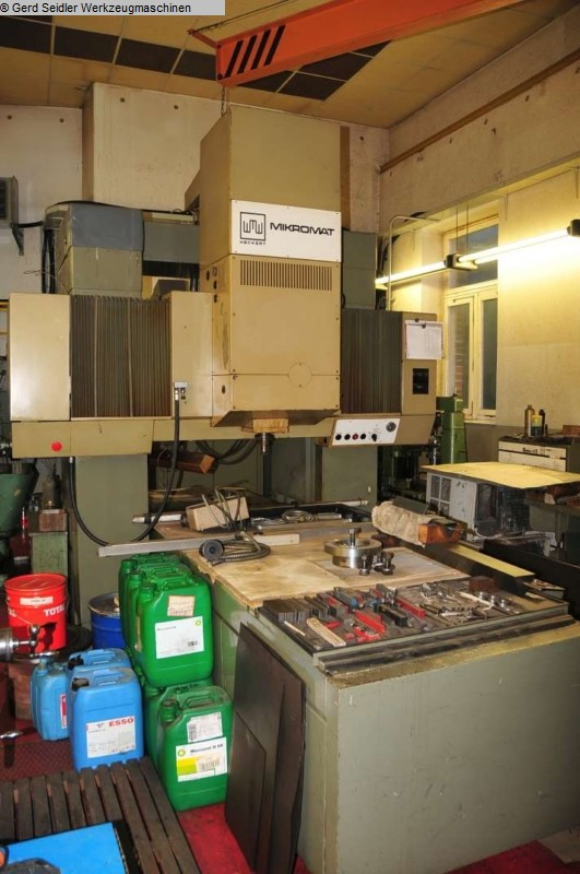 Machines à aléser / Centres d'usinage / Foreuses d'occasion Aléseuse à montant fixe WMW-MIKROMAT BKoZ 900 / 1400 / 50 P