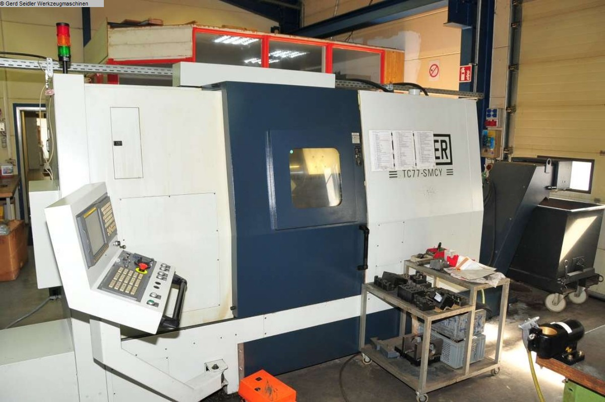 used CNC Turning- and Milling Center SPINNER TC 77 SMCY
