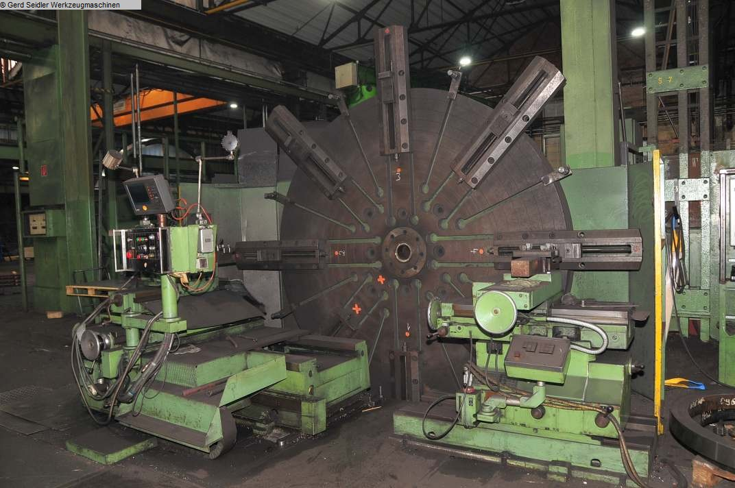used Facing Lathe WMW Magdeburg DP3-S2