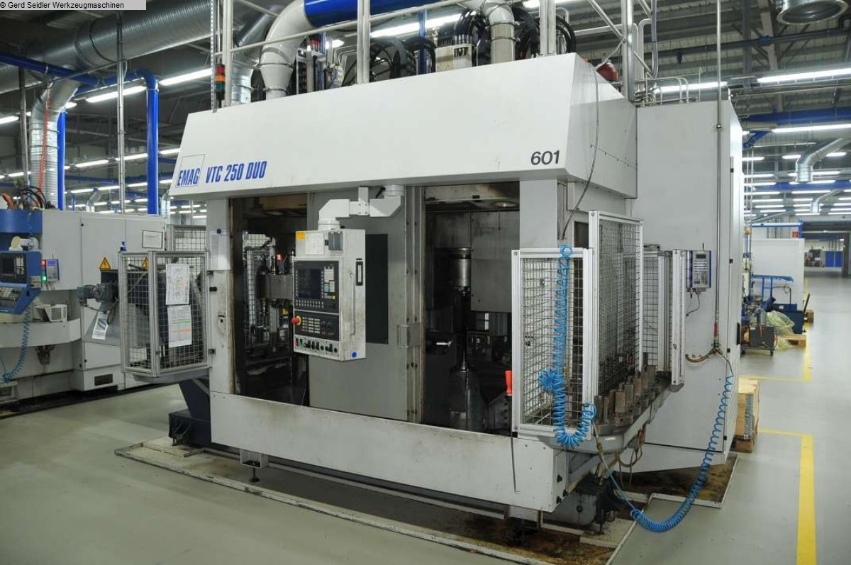 used Vertical Turning Machine EMAG VTC 250 DUO ED