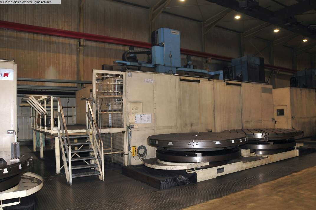 used Lathes Vertical Turret Lathe - Double Column SCHIESS VMG 4-PWS