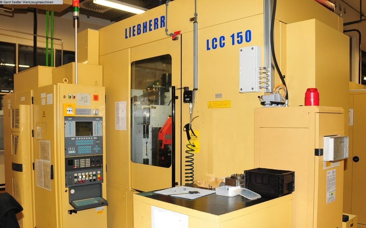 gebrauchte Verzahnungsmaschinen Abwälzfräs- und Stoßmaschine -kombiniert LIEBHERR LCC 150