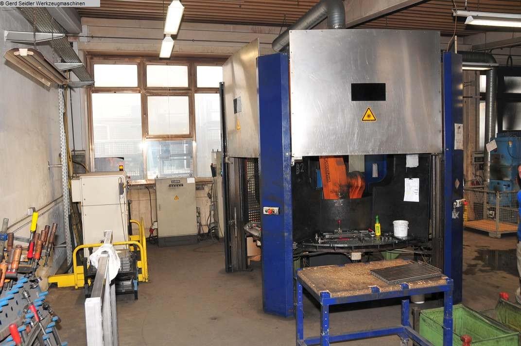 used Welding machines Welding Robot CLOOS ROMAT 310 mit ROTROL 32 TM