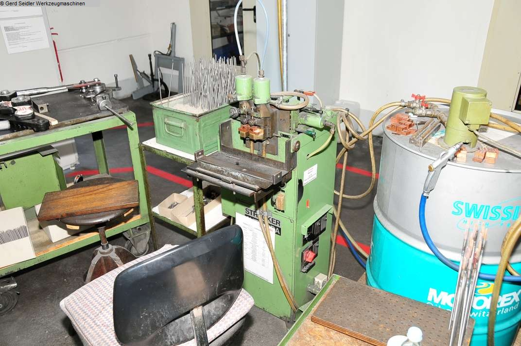 used Welding machines Butt-Welding Machine STRECKER S6-pn