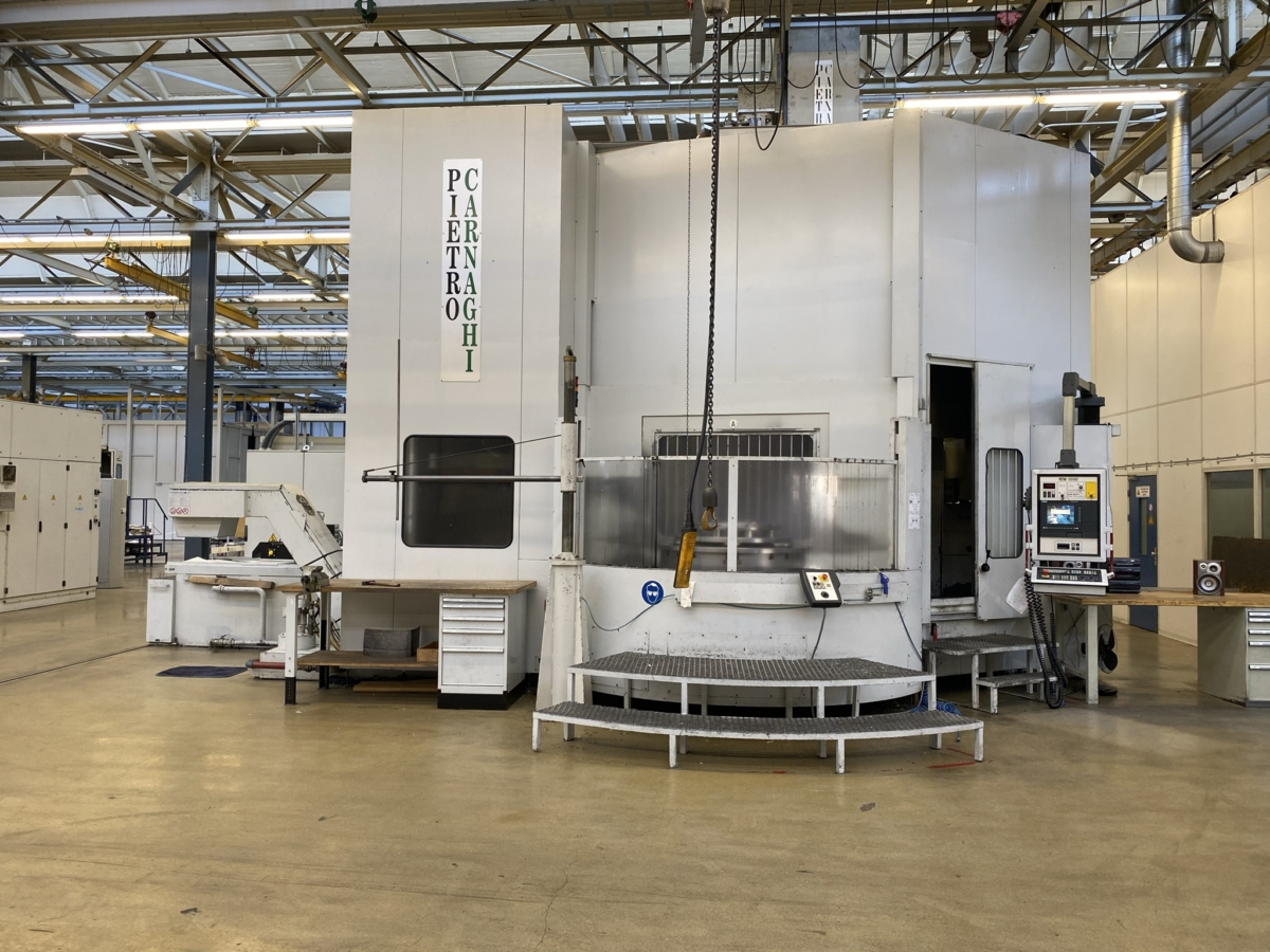 used  CNC-Vertical Turret Lathe - Single Col. PIETRO CARNAGHI ATF14TM