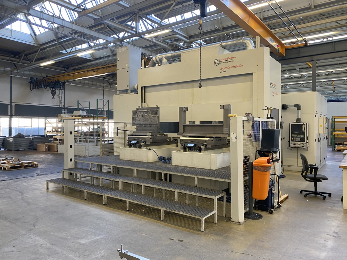 used  Milling Machining Centers 5 Axis HECKERT ZT1000/130