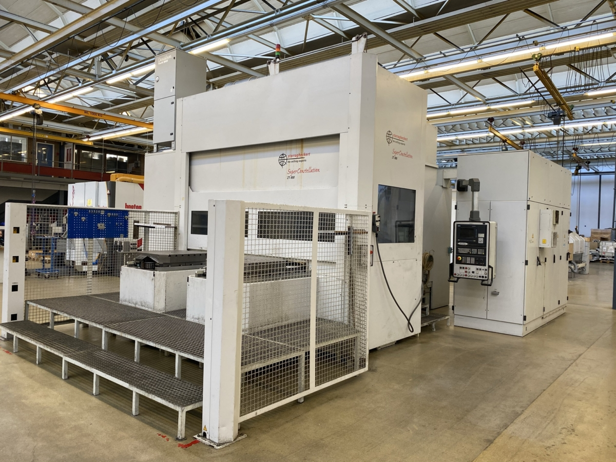 used  Milling Machining Centers 5 Axis HECKERT ZT800/130