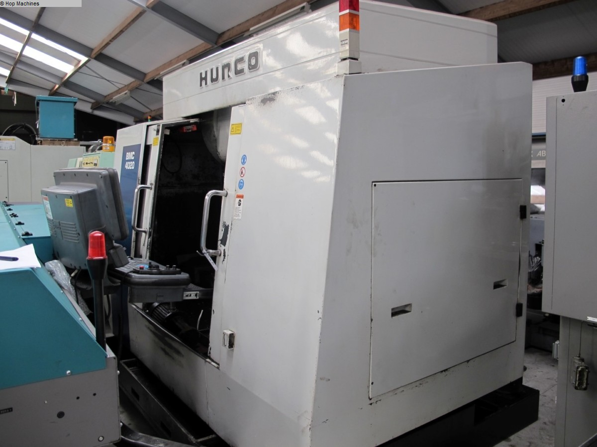 used  milling machining centers - vertical HURCO BMC 4020