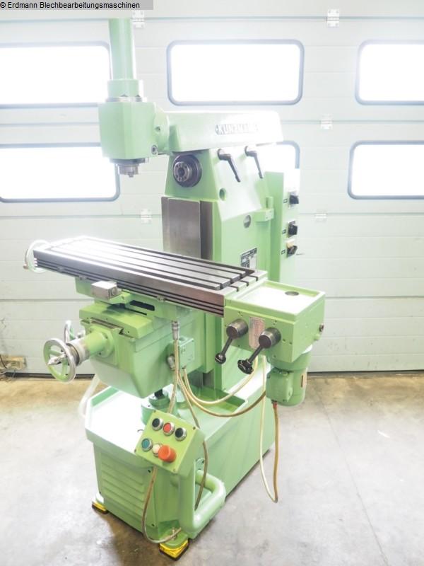 gebrauchte Maschine Fräsmaschine - Universal KUNZMANN UF6N
