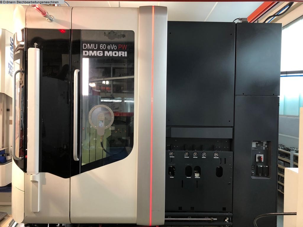 used milling machining centers - universal DMG DMU 60 eVo PW