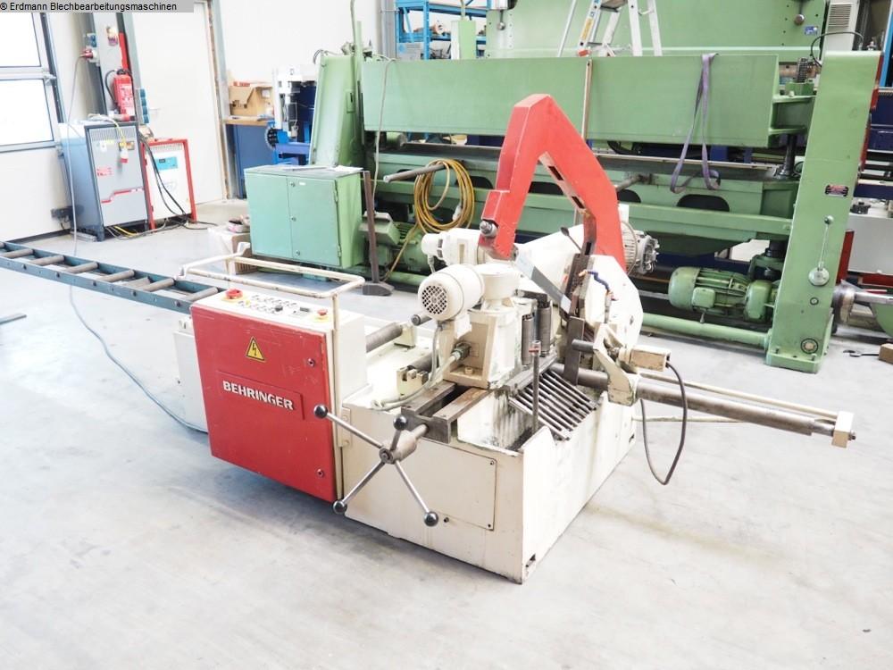 gebrauchte Maschine Bügelsägeautomat BEHRINGER SAR300