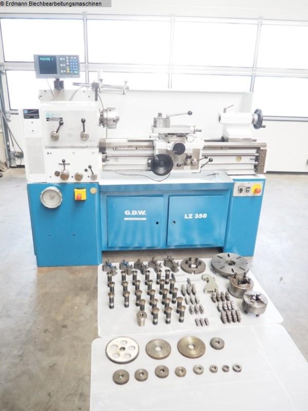 gebrauchte Maschine Leit- und Zugspindeldrehmaschine GEDEE - WEILER LZ350