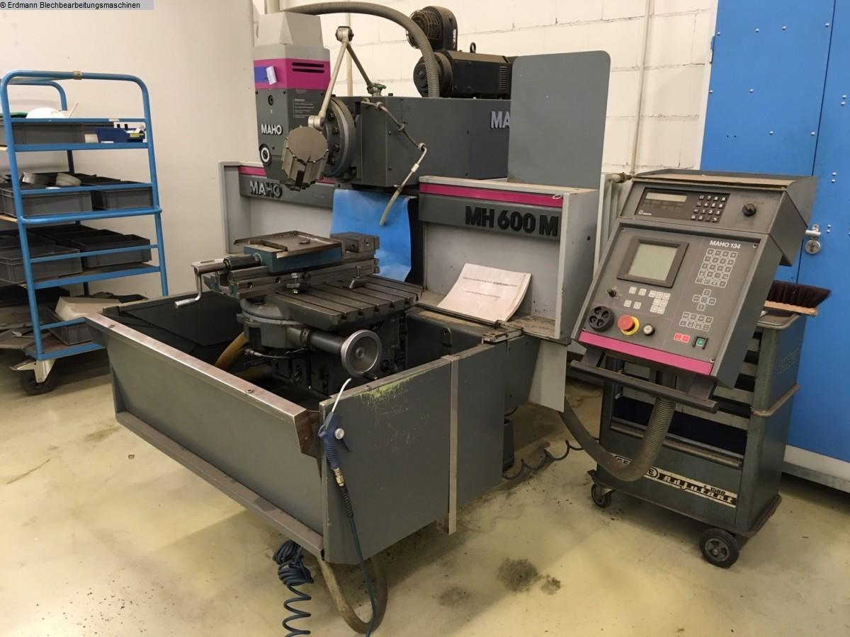 gebrauchte Maschine Fräsmaschine - Universal MAHO MH600M