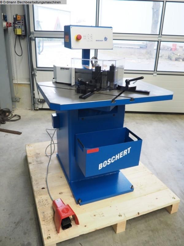 gebrauchte Blechbearbeitung / Scheren / Biegen / Richten Ausklinkmaschine BOSCHERT LB12/6