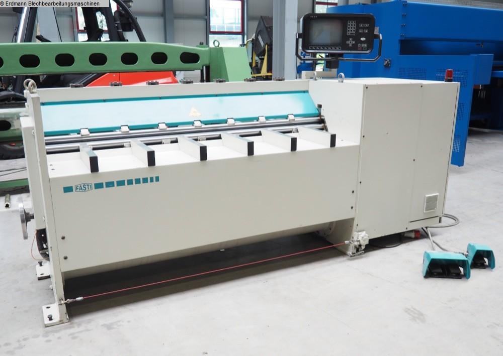 gebrauchte Blechbearbeitung / Scheren / Biegen / Richten 4-Walzen - Blechbiegemaschine FASTI 145-1860 x 0,75