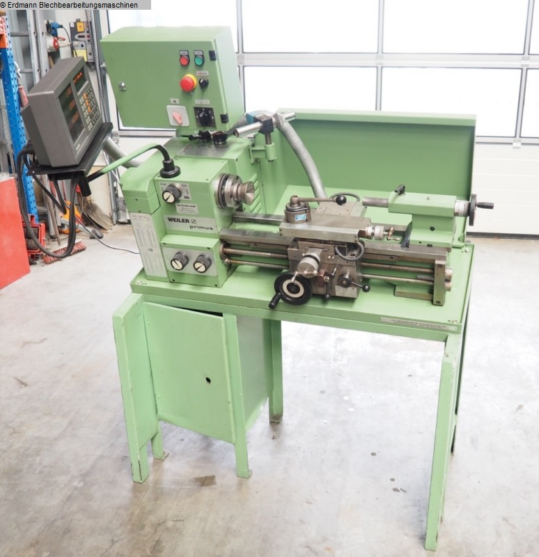 gebrauchte Leit- und Zugspindeldrehmaschine WEILER LZ Primus GS