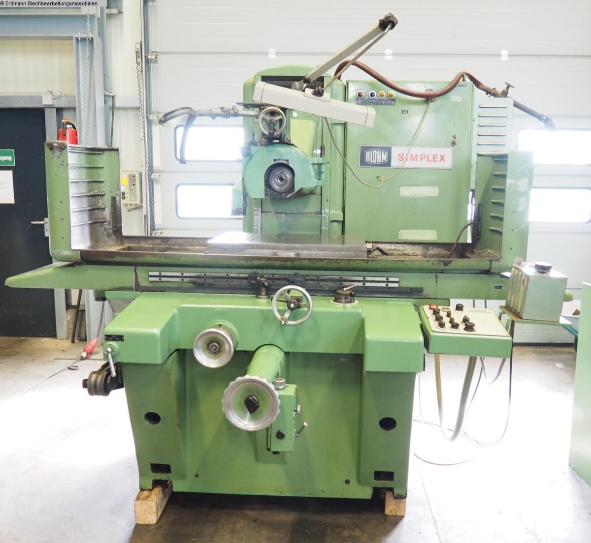 gebrauchte  Flachschleifmaschine BLOHM Simplex 75