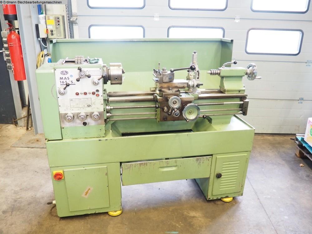 gebrauchte  Leit- und Zugspindeldrehmaschine AVM MAS 165