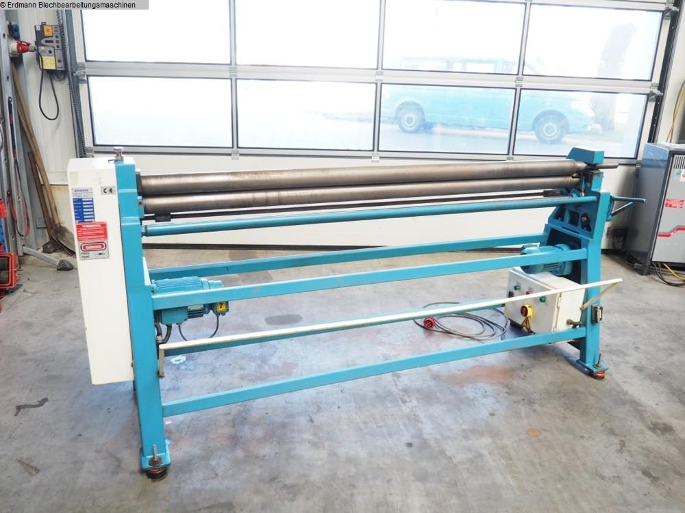 used Plate Bending Machine  - 3 Rolls AKYAPAK 2030 x 75
