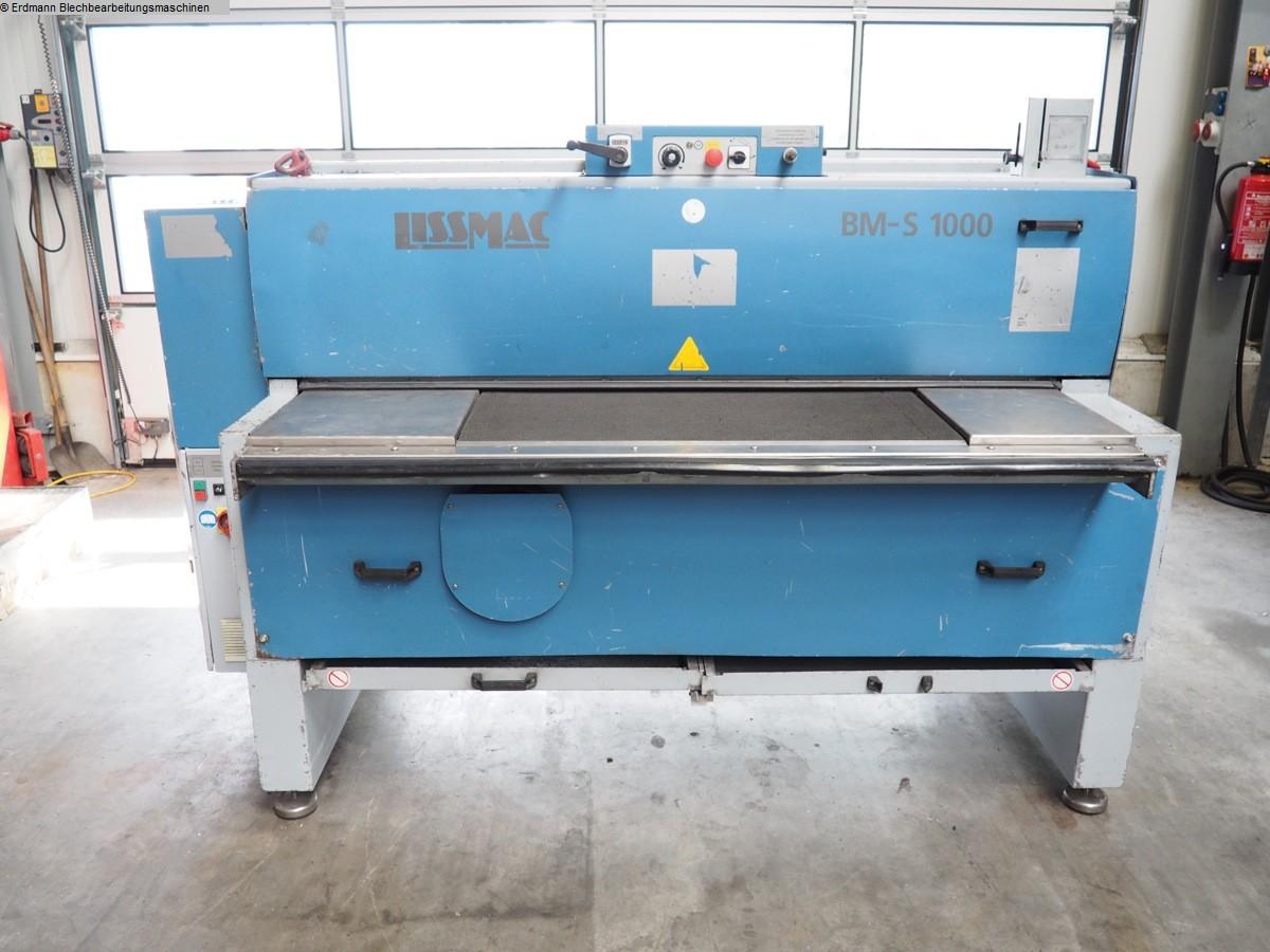 gebrauchte Sonstige Metallbearbeitungsmaschinen Entgratmaschine LISSMAC SBM-S 1000