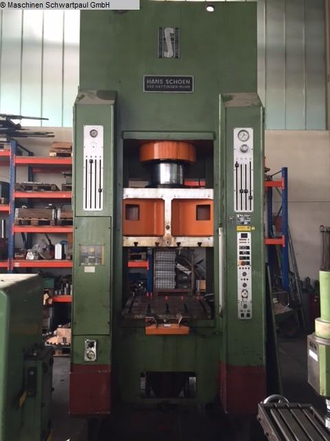 used Double-Column Presse SCHOEN SH/LF 1600/200