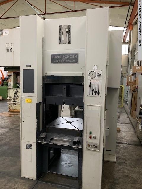 gebrauchte Pressen und Bördelmaschinen Doppelständerpresse - Hydraulisch SCHOEN SH/LF 40