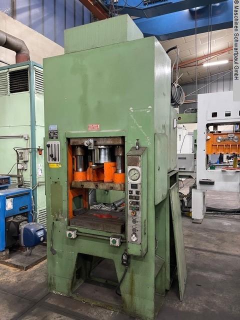 gebrauchte Pressen und Bördelmaschinen Doppelständerpresse - Hydraulisch SCHOEN UTE 100