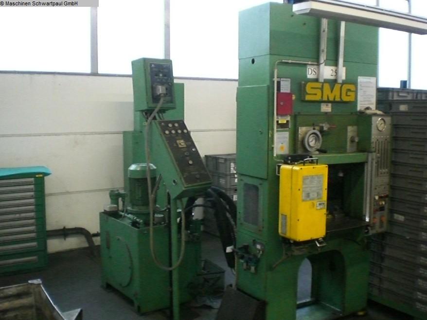 gebrauchte Pressen und Bördelmaschinen Doppelständerpresse - Hydraulisch SMG DS 25