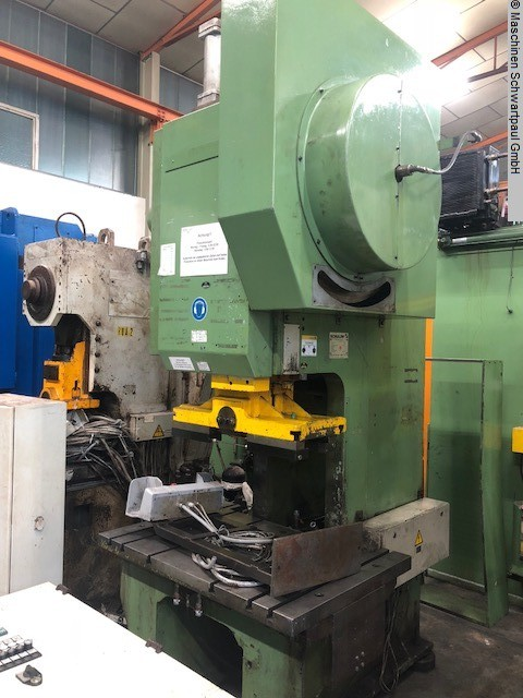 used Presses Eccentric Press - Single Column SCHULER PDr C63-315