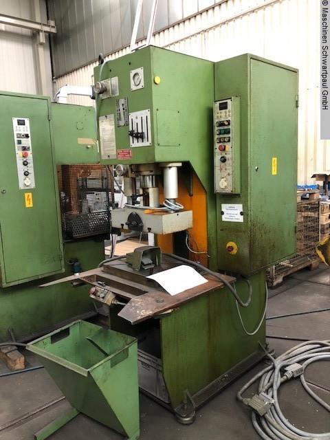 gebrauchte Pressen und Bördelmaschinen Einständerpresse - Hydraulisch SCHOEN TES-B-C 16